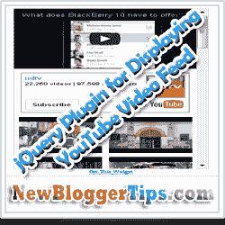 12) اضافة مذهلة لعرض الفيديو في مدونتك بتقنية الجكويري