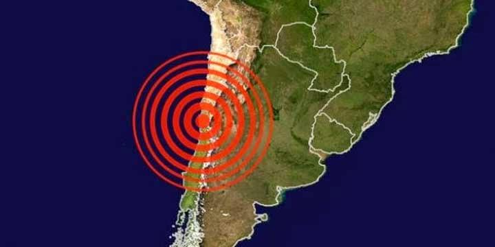 SISMO DE 5,7 GRADOS EN NORTE DE CHILE 12 DE FEBRERO 2014
