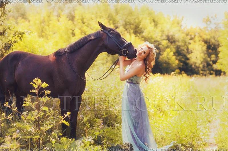 поцелуй лошади