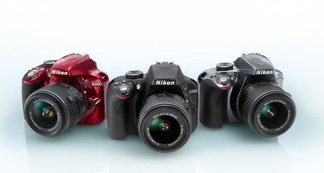 "The Evolution of Camera, ""Nikon D3300"""