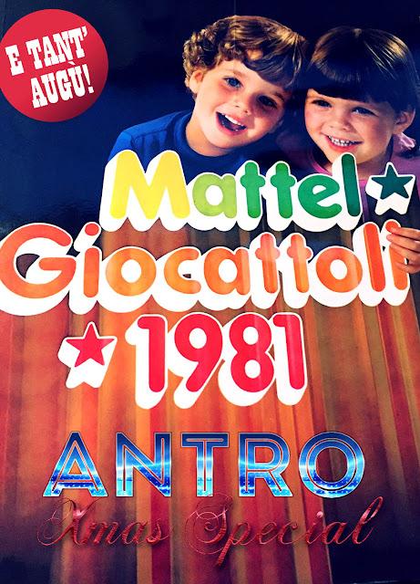 Catalogo giocattoli Mattel 1981