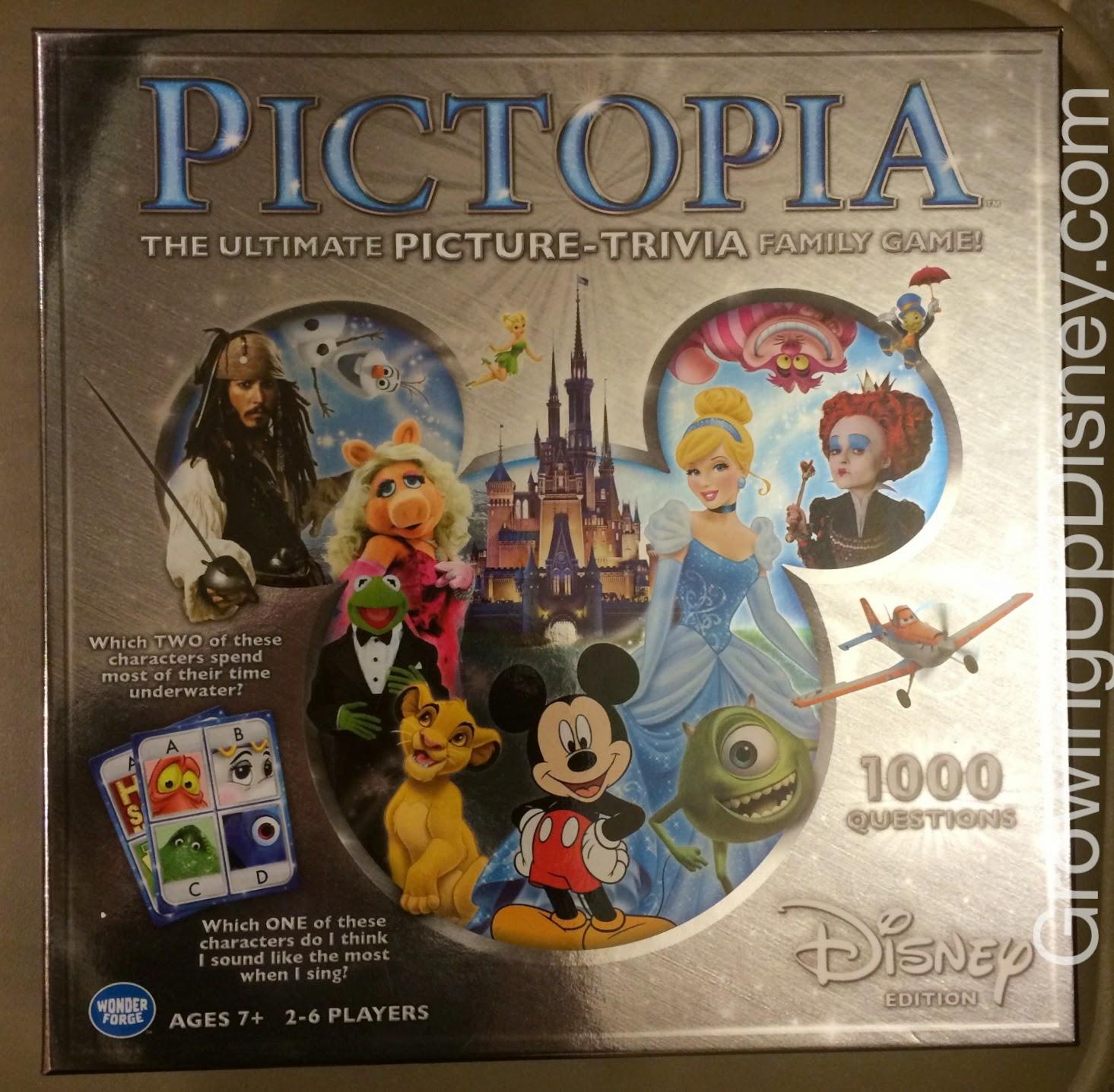 Disney trivia games, DIsney board games