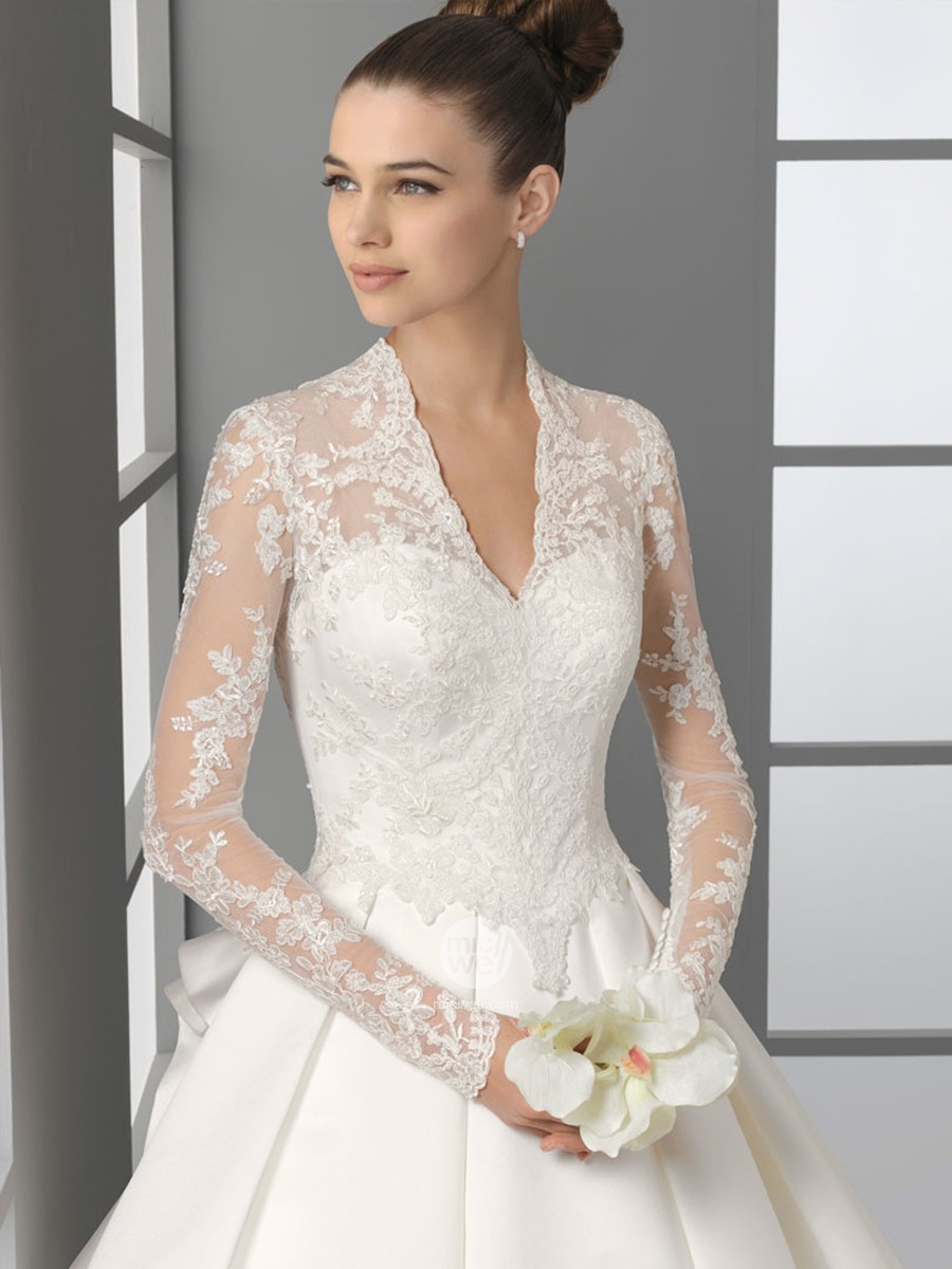 Top Long Sleeve Lace Wedding Dress 900 x 1200 · 135 kB · jpeg