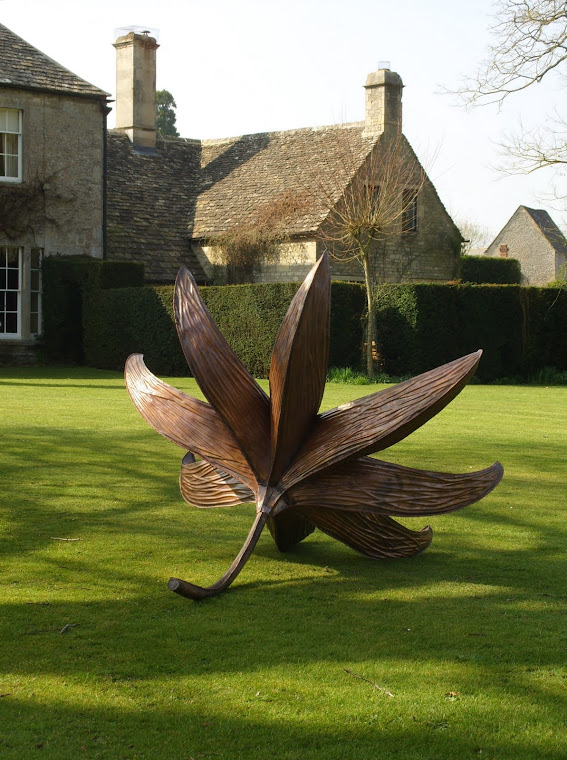 Copper Sculpture at Quenington