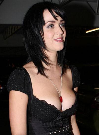 Katy Perry Layered Hair