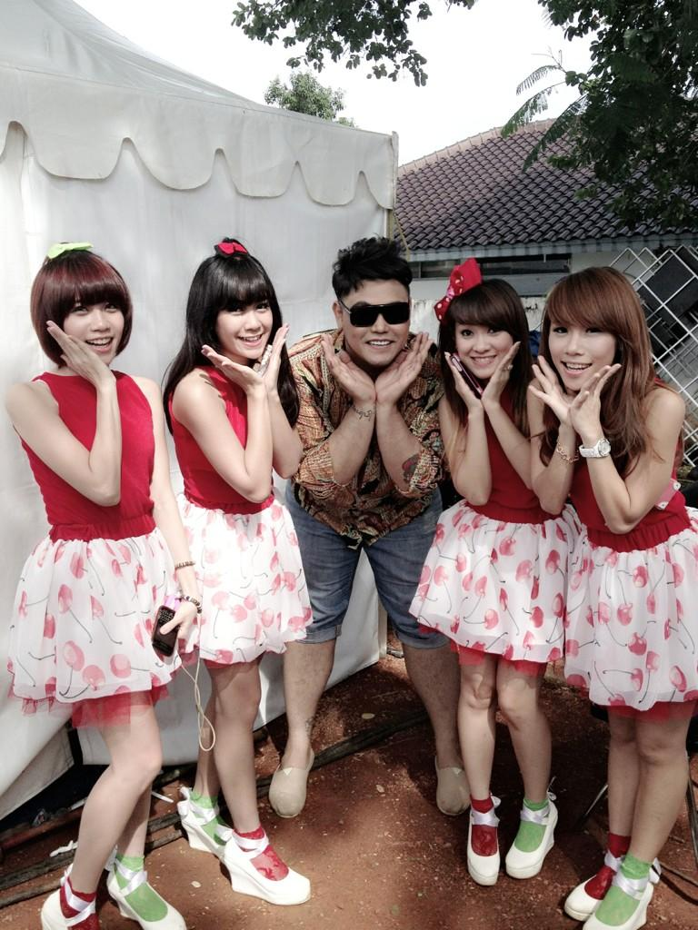 CherryBelle Indonesia: [Foto] CherryBelle At Ulang Tahun Inbox SCTV ...