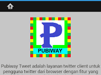 Download Aplikasi PubiwayTweet Khusus Android