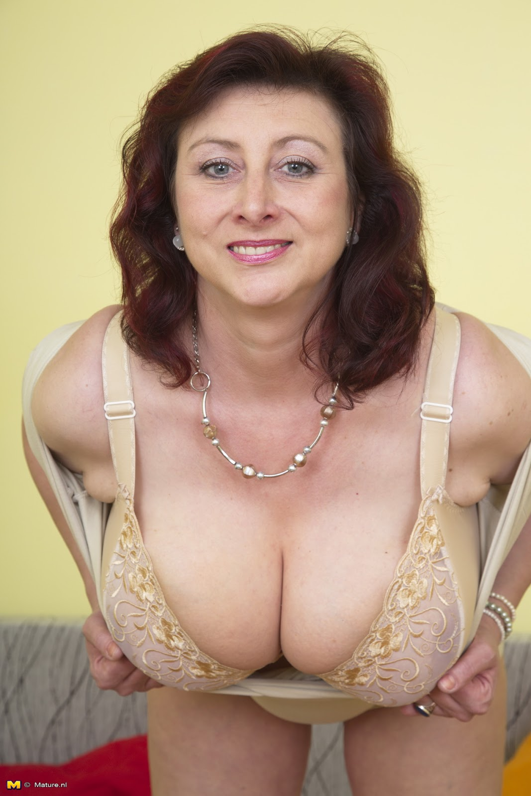 from Aaron old woman with big tits naked