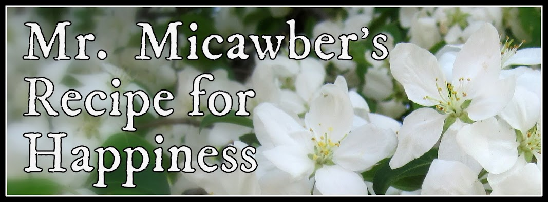 Mr. Micawber's Recipe for Happiness