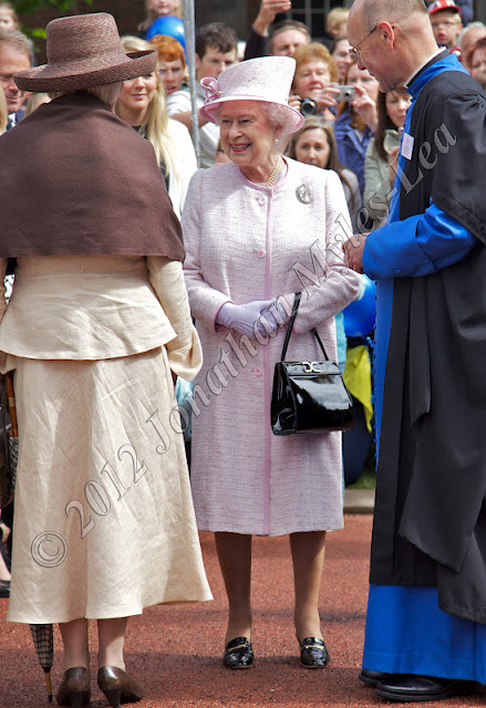 HM The Queen at Hereford Cathedral. Photo © Jonathan Myles-Lea