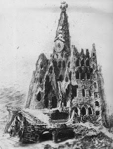 Dibuix projecte Cripta Gaudí