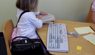typing on keyboard - Brick by Brick