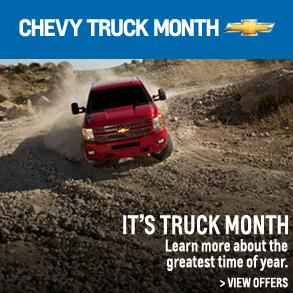 Enjoy Chevy Truck Month At Outten Chevrolet Hamburg