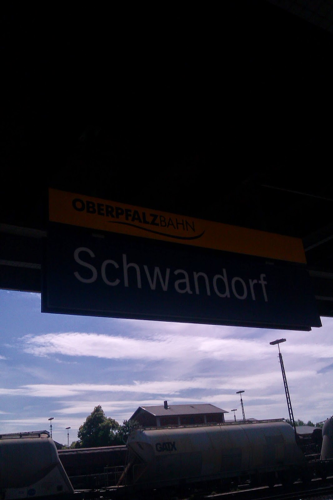 Zug Schwandorf Regensburg