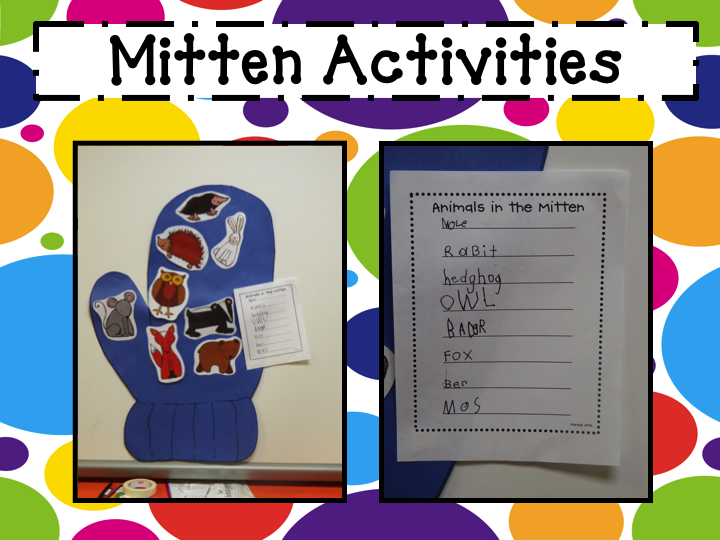 retelling the story the mitten by jan brett