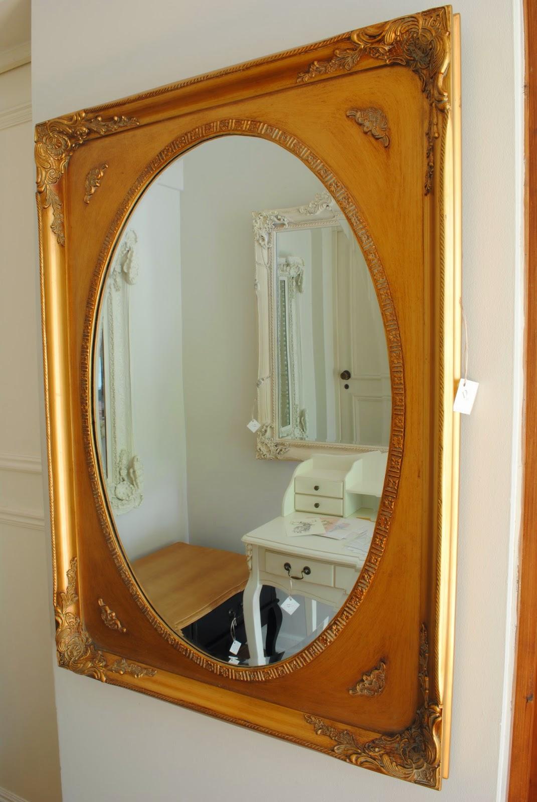 Paz montealegre decoraci n espejos estilo barroco for Espejo barroco