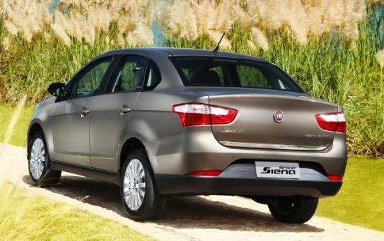 Novo Fiat Siena 2014 sedan popular