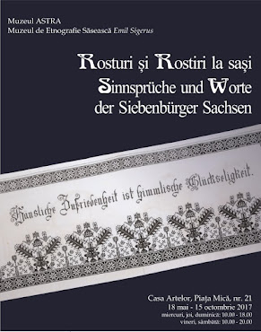 Rosturi și Rostiri la sași - 18.05 - 15.10.2017