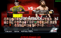 wwe 2K14 android roster