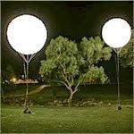 balon lampu taman