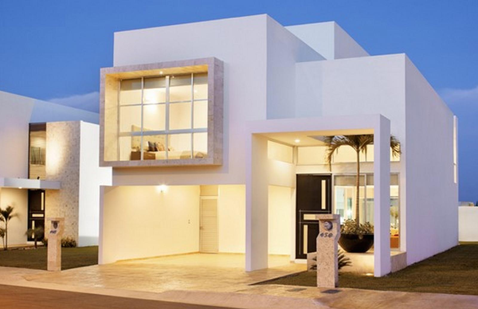 Fachadas de casas minimalistas carmelo mar n for Plantas de viviendas