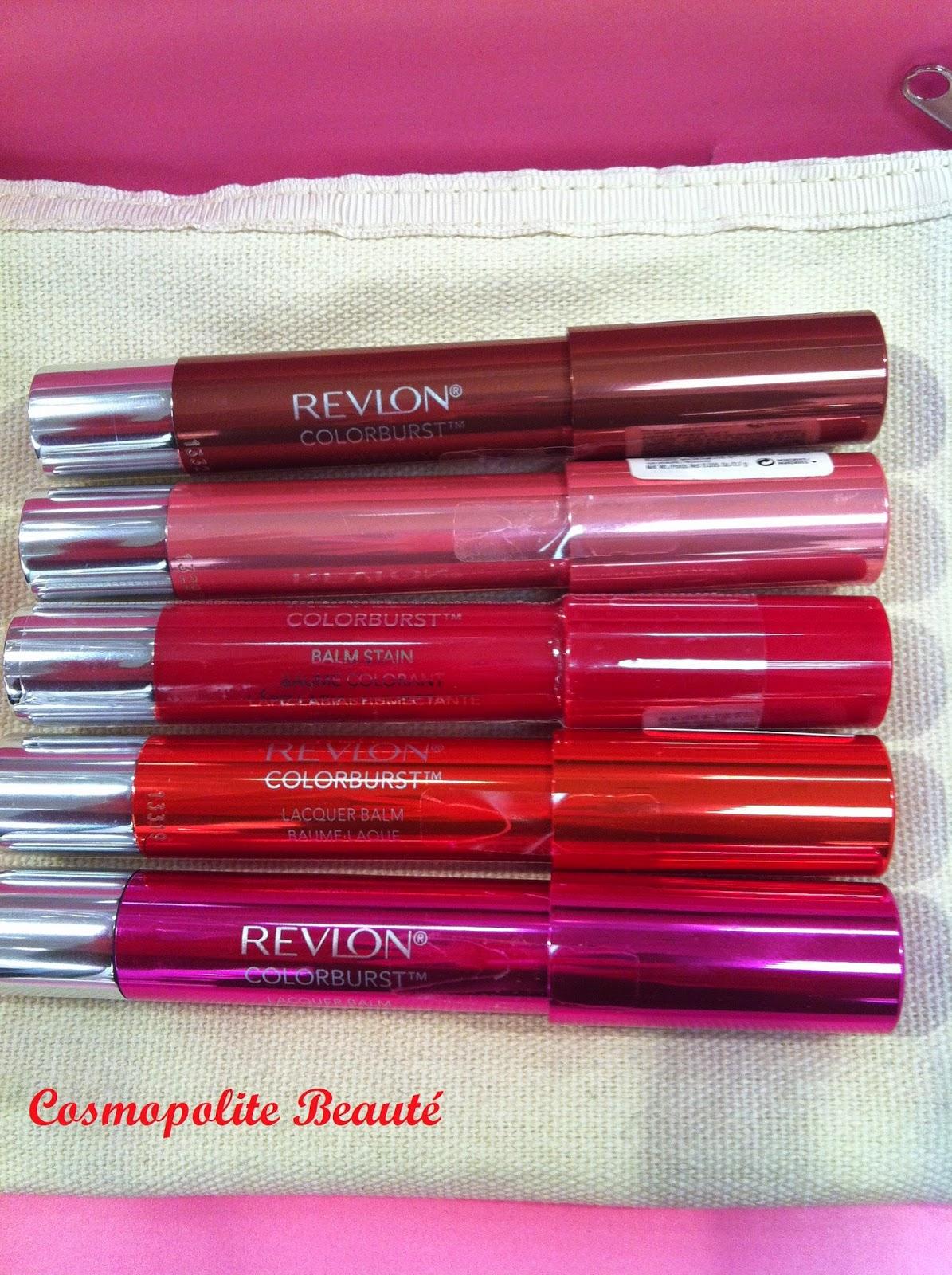 Revlon, colorburst, baume à lèvres, crayon, jumbo, lèvres, lipstick, lips, mat, brillant