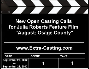 August Osage County Open Casting Calls
