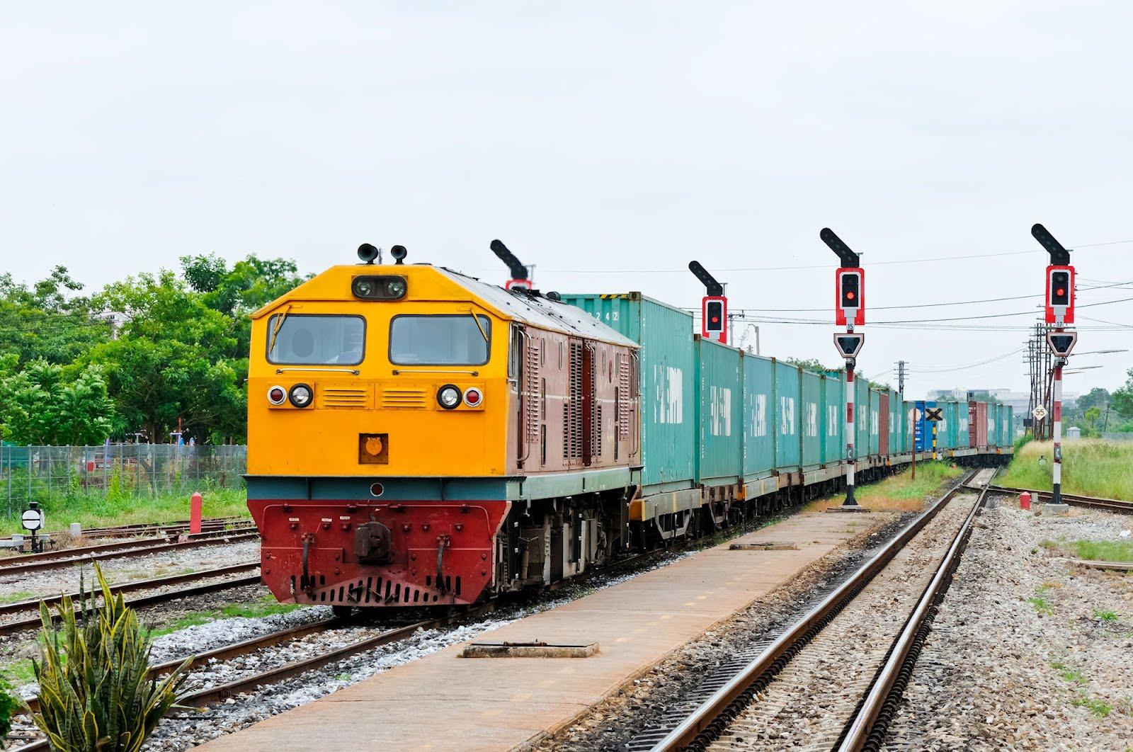 Fotos de trenes de carga 21