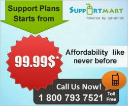 Support Plans starts from 99.99$