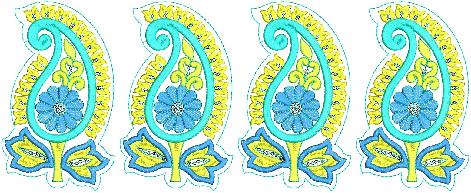 Embdesigntube fancy lace border collection of