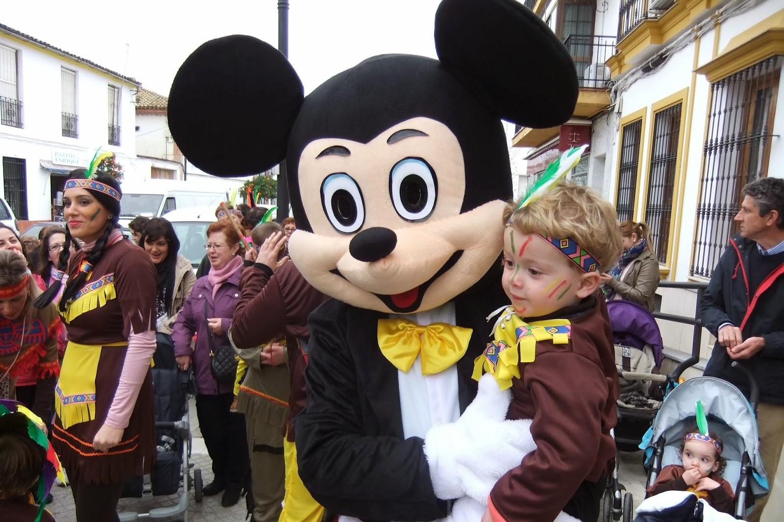Animación Carnaval Olvera. E.I El Olivo