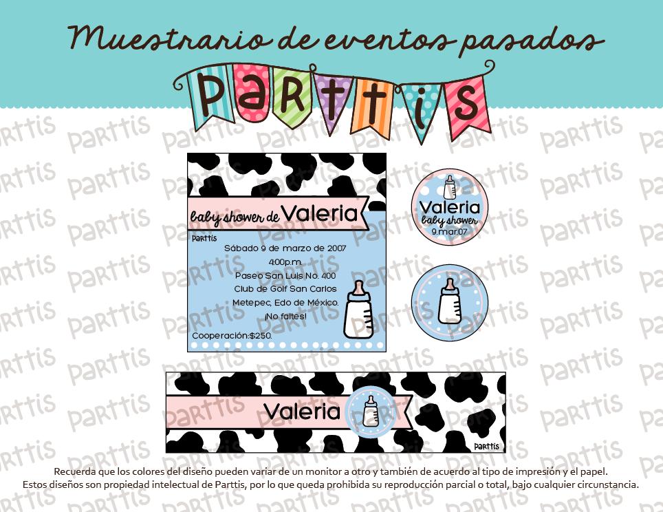 PARTTIS: Temas para baby showers y nacimientos