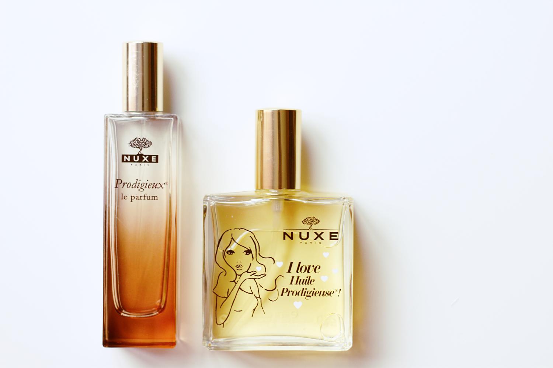 Nuxe Huile Prodigieuse & Prodigieux le parfum review by www.quitealooker.com