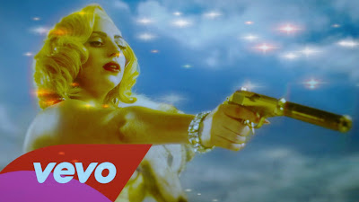 Lady Gaga - Machete Kills Aura Lyrics Video