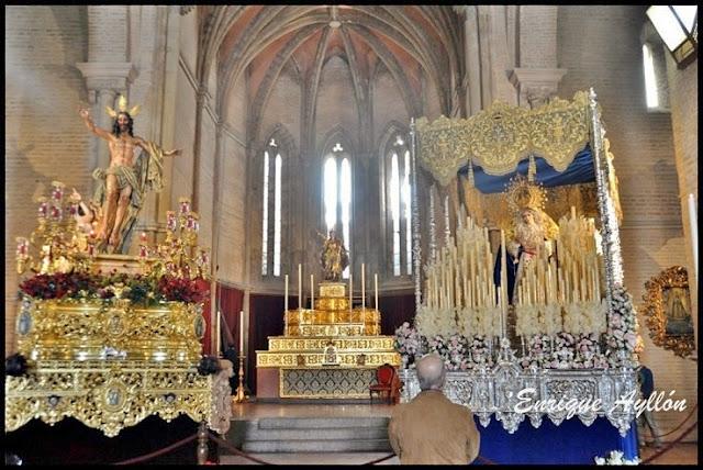 Titulares de la Hermandad de La Resurrección de Sevilla 2013