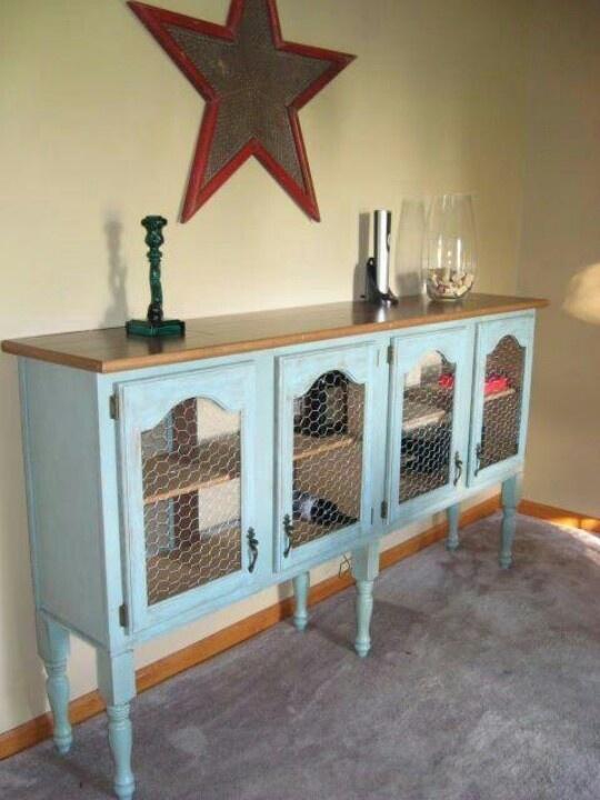 Fleachic flea market savvy - Recycle old kitchen cabinets ...