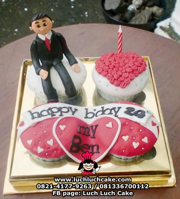 Cupcake Untuk Pacar Cowok Daerah Surabaya - Sidoarjo