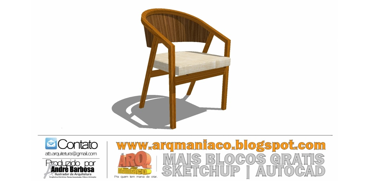 ArqManiaco ~ Mesa Jardim Cad Blocos