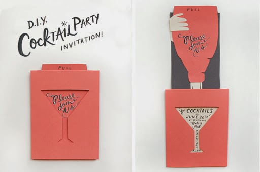DIY Paper Crafts Party Invitation