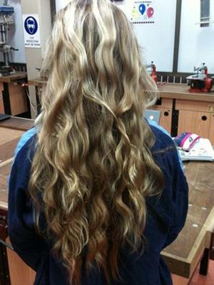 peinados con ondas suaves