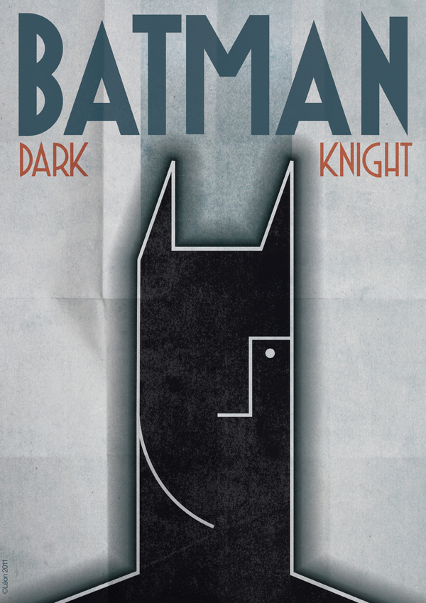 Batman Art Deco
