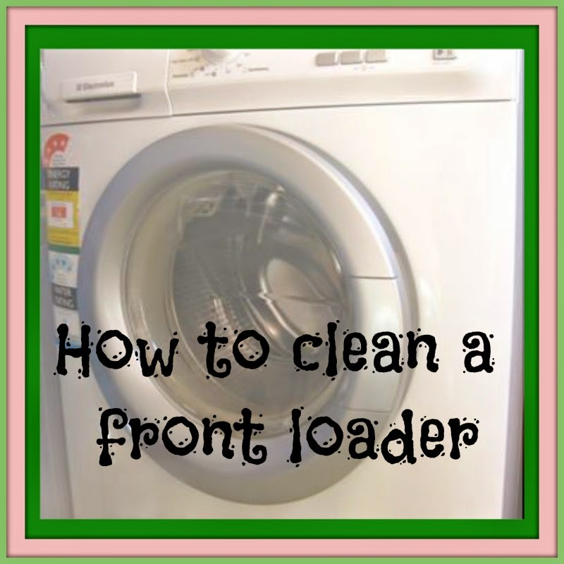what to use to clean front loader washing machine