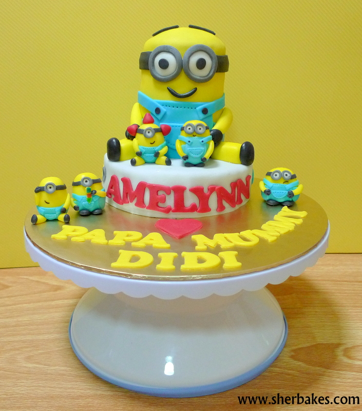 Sherbakes Dave the Minion Cake
