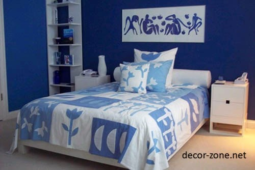 blue bedroom designs paint colors textiles - Bedroom Design Blue