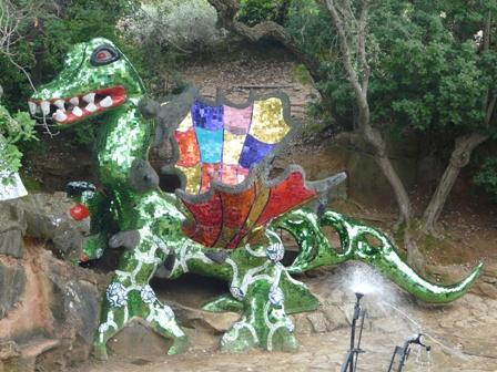 V ronique gouesnard le jardin des tarots - Niki de saint phalle le jardin des tarots ...