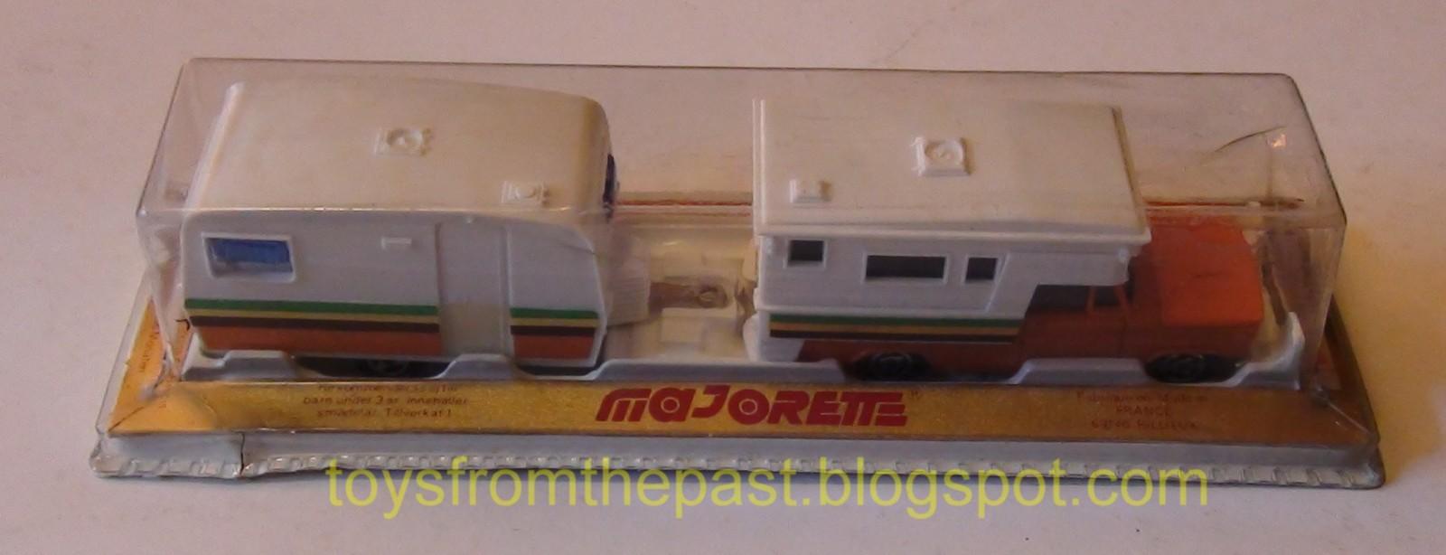Toys From The Past 186 Majorette Camper Car Caravan