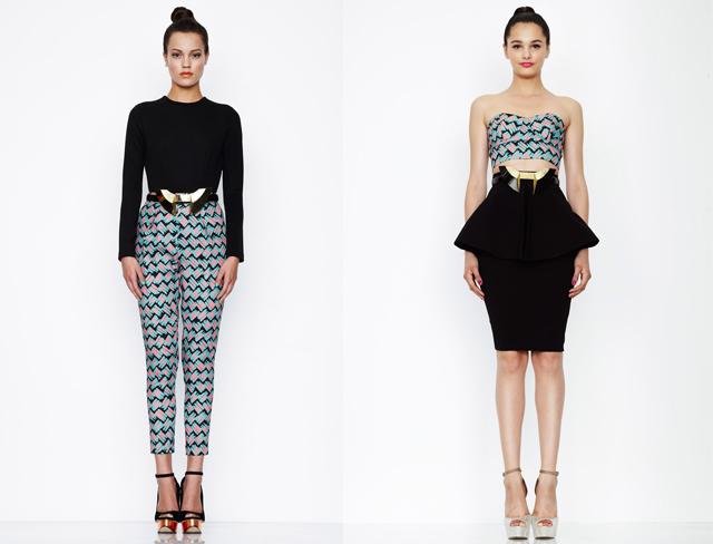 geometric pattern clothes