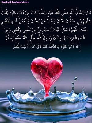 Doa Para Perindu Cinta Hakiki