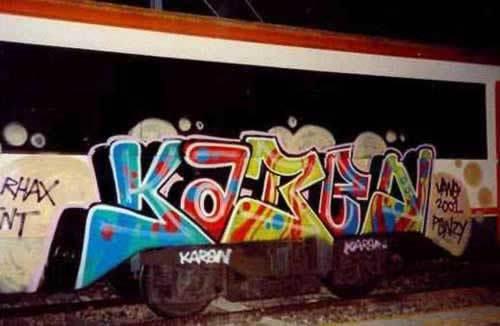 Te quiero karen en graffiti - Imagui