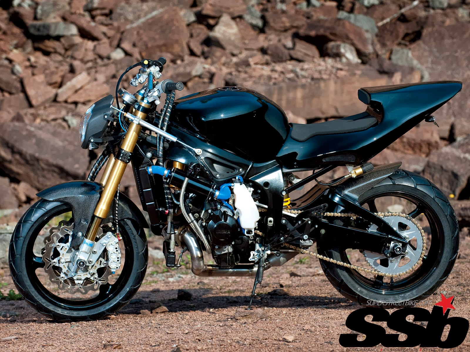 See Best Style: 2003 Supercharger Yamaha R6 Streetfighter